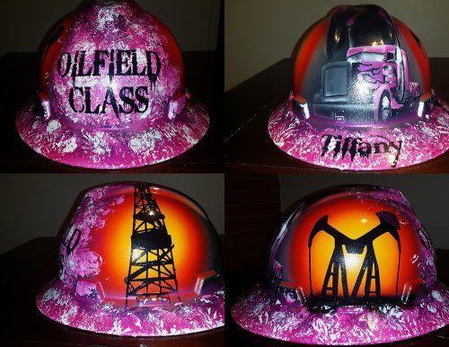 Custom paint hard hats and helmets - Custom Paint and Airbrush Design in  Houston cbf1bb9823fa