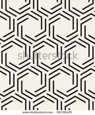 Vector seamless pattern. Modern stylish texture. Repeating geometric ...