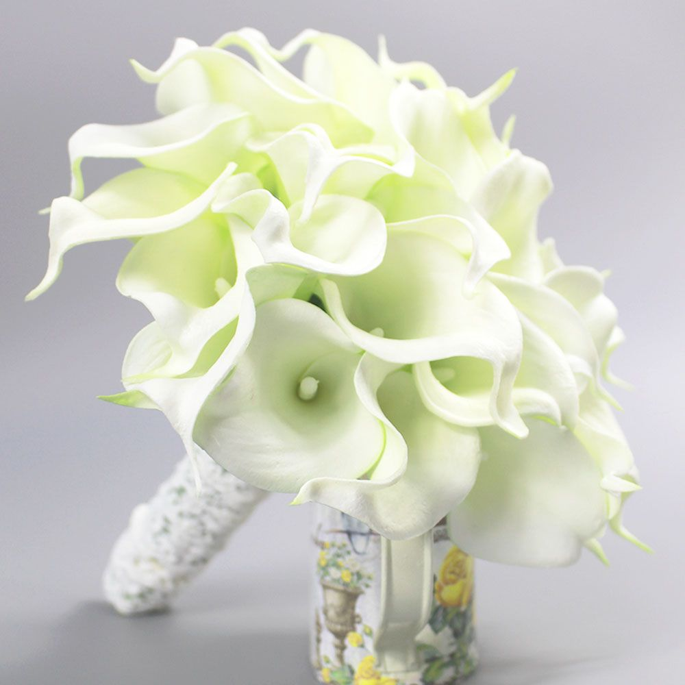 Bouquet De Mariage Fashion High Quality Pu Fake Flowers Bridal