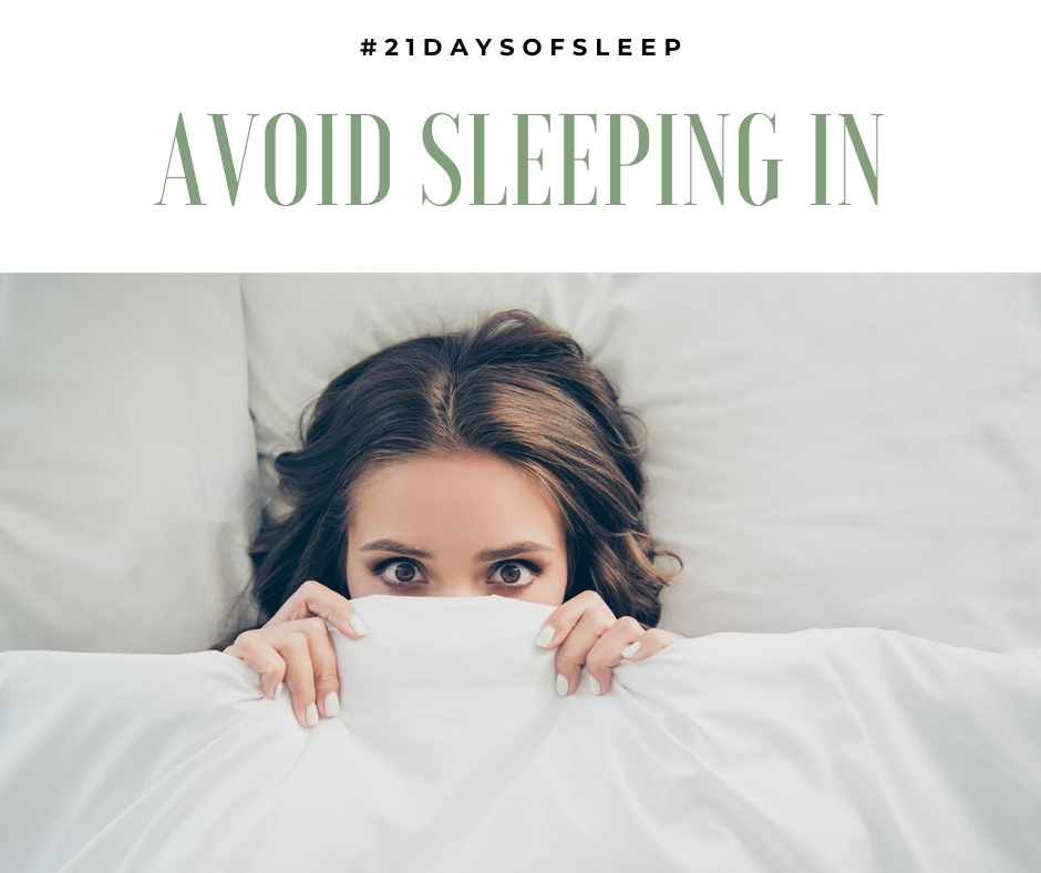 """AVOID SLEEPING IN Sleeping in during the lockdown may be amazing, but it is messing up your normal rest on the other nights of the week. These extra bursts of sleep can throw your circadian rhythm off, making it harder to get to bed.  This is a misconception that """"catch up"""" sleep can reverse the damage of chronic sleep deprivation, but it doesn't. Instead don't vary your wake-up time by more than an hour from regular weekdays.   #SleepRenewal #sleep #naps #CircadianRhythms #SleepStages"""