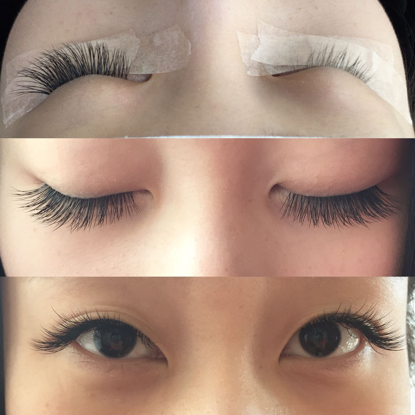 Lash extensions by MinJung MJ