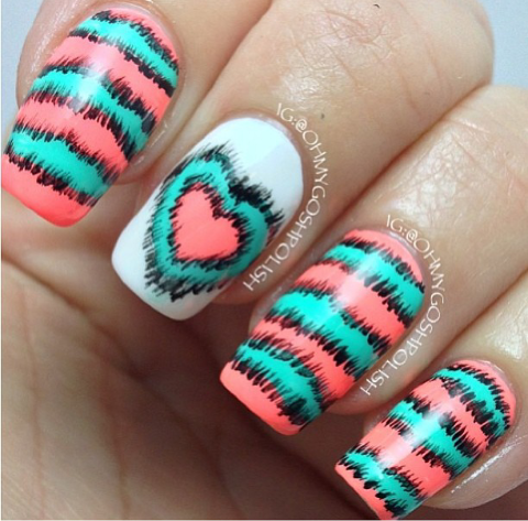These Are Super Cute But This Would Be Crazy Hard To Do Nail Art