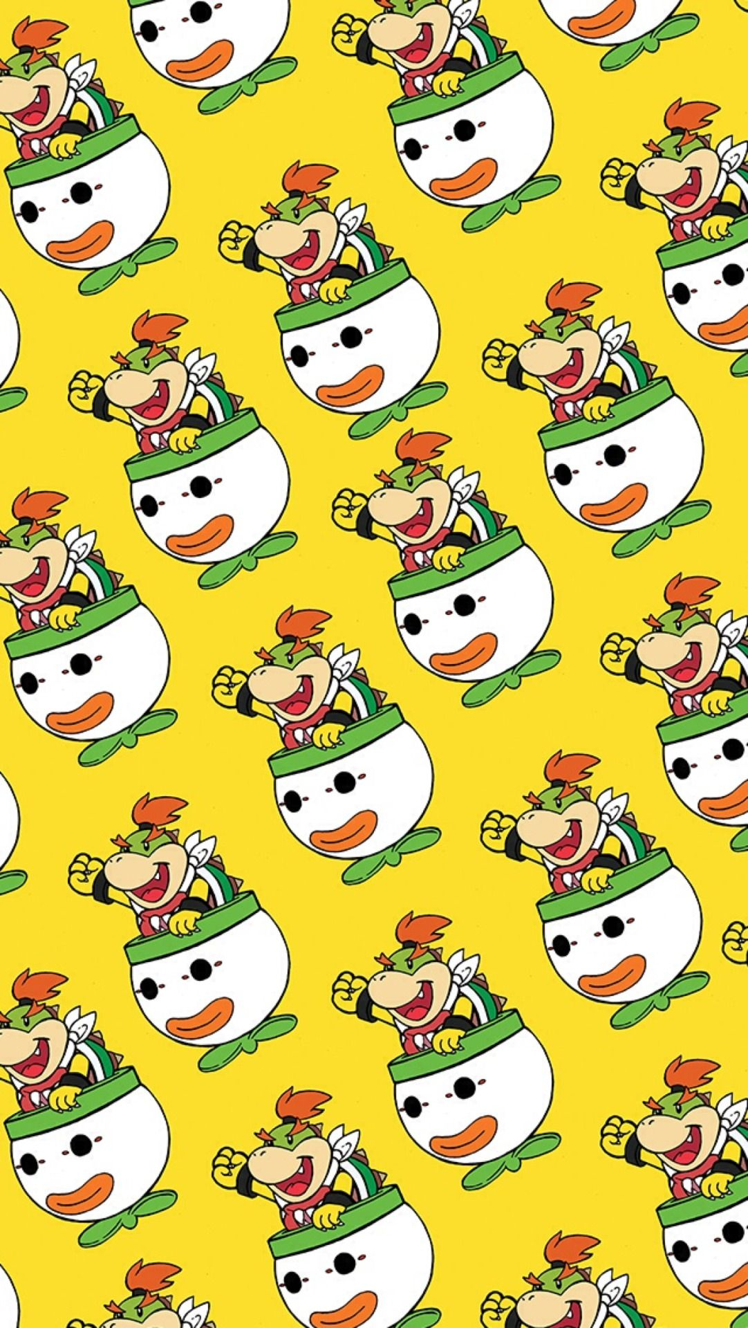 Bowser Jr Mobile Wallpaper Nintendo 39349964 1082 1920 Png 1 082 1 920 Pixels Bowser Mario Bros Mobile Wallpaper