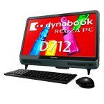 dynabook REGZA PC D712/WTTFB 型番:PD712TTFBGBW