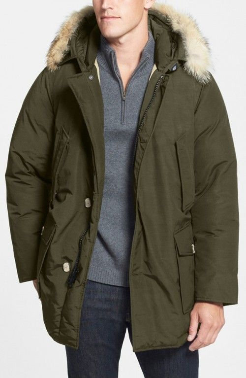 Woolrich John Rich Arctic Parka with Coyote Fur Trim | Jacket, Coat and  Clothing