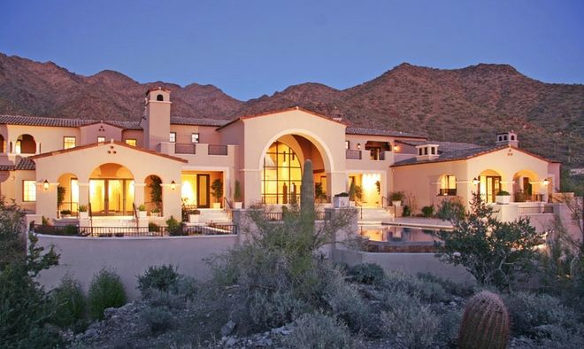 Bret Michaels house in Scottsdale, AZ