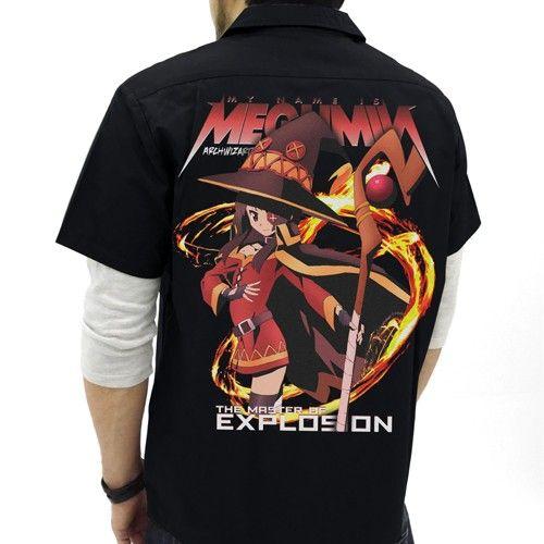 Konosuba Megumin Cospa Character Full Graphic T-shirt Size XL Collection Anime