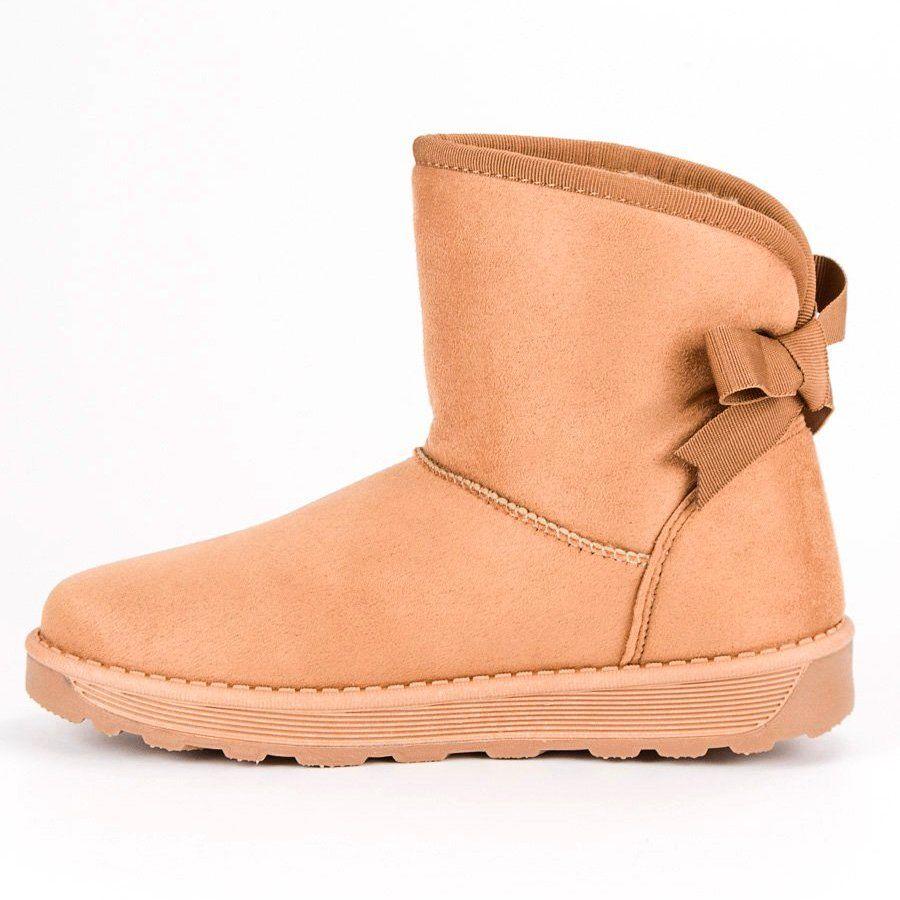 Mukluki Z Kokarda Brazowe Boots Bearpaw Boots Ugg Boots