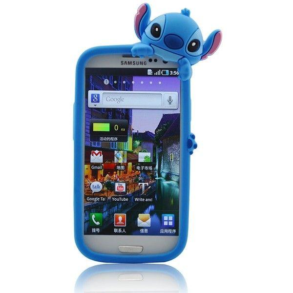 Disney Stitch Hide And Seek Silicone Case Cover For Samsung Galaxy S Iii S3 Gt I9300 Blue Stitch Disney Samsung Galaxy Smartphone Galaxy Smartphone