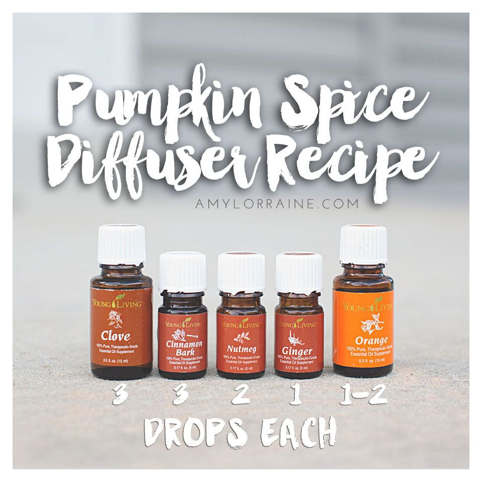 Pumpkin Spice Diffuser Combo | Young Living Essential Oils | Healthy Living | www.amylorraine.com                                                                                                                                                      More #healthyliving