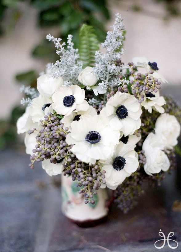5 Anemone Anemones add a fabulous touch of intrigue to any