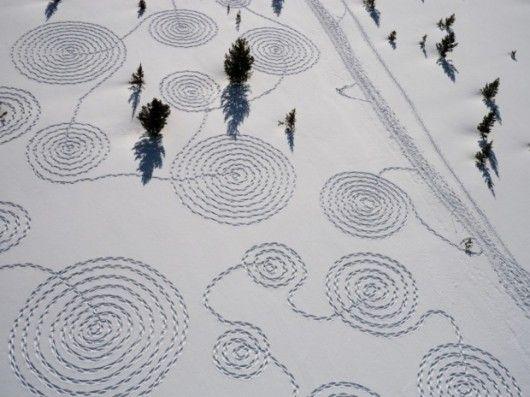 fascinating land art