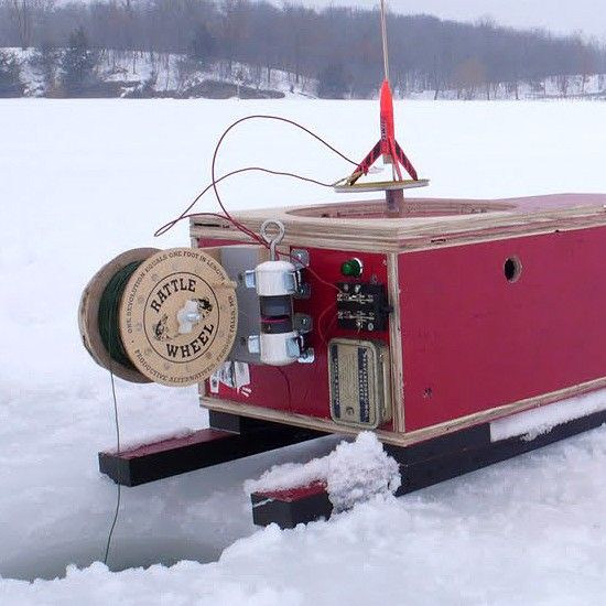 diy portable ice fishing shack : crafts | ice fishing | pinterest