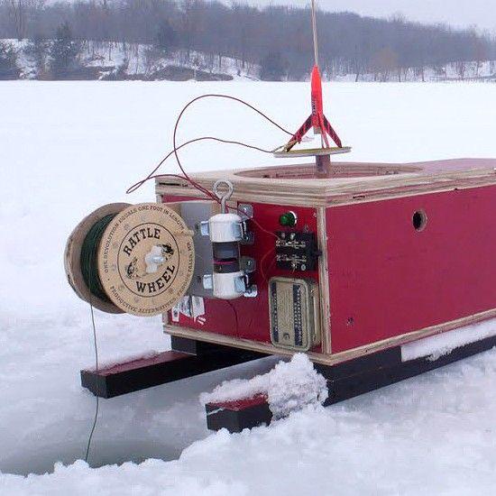 Diy Portable Ice Fishing Shack Crafts Ice Fishing