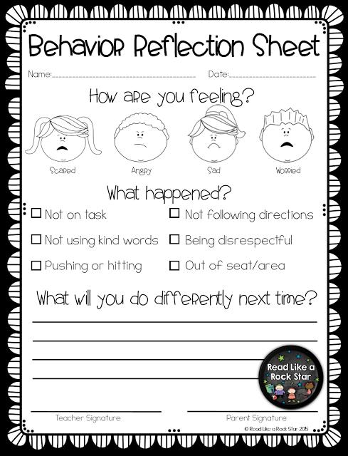 Read Like a Rock Star's Positive Behavior Management Ideas! is part of Classroom behavior management -