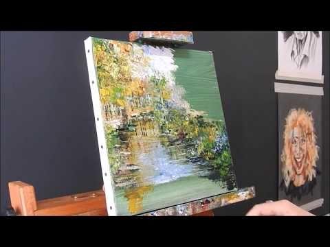 YouTube | Peinture paysage, Comment peindre