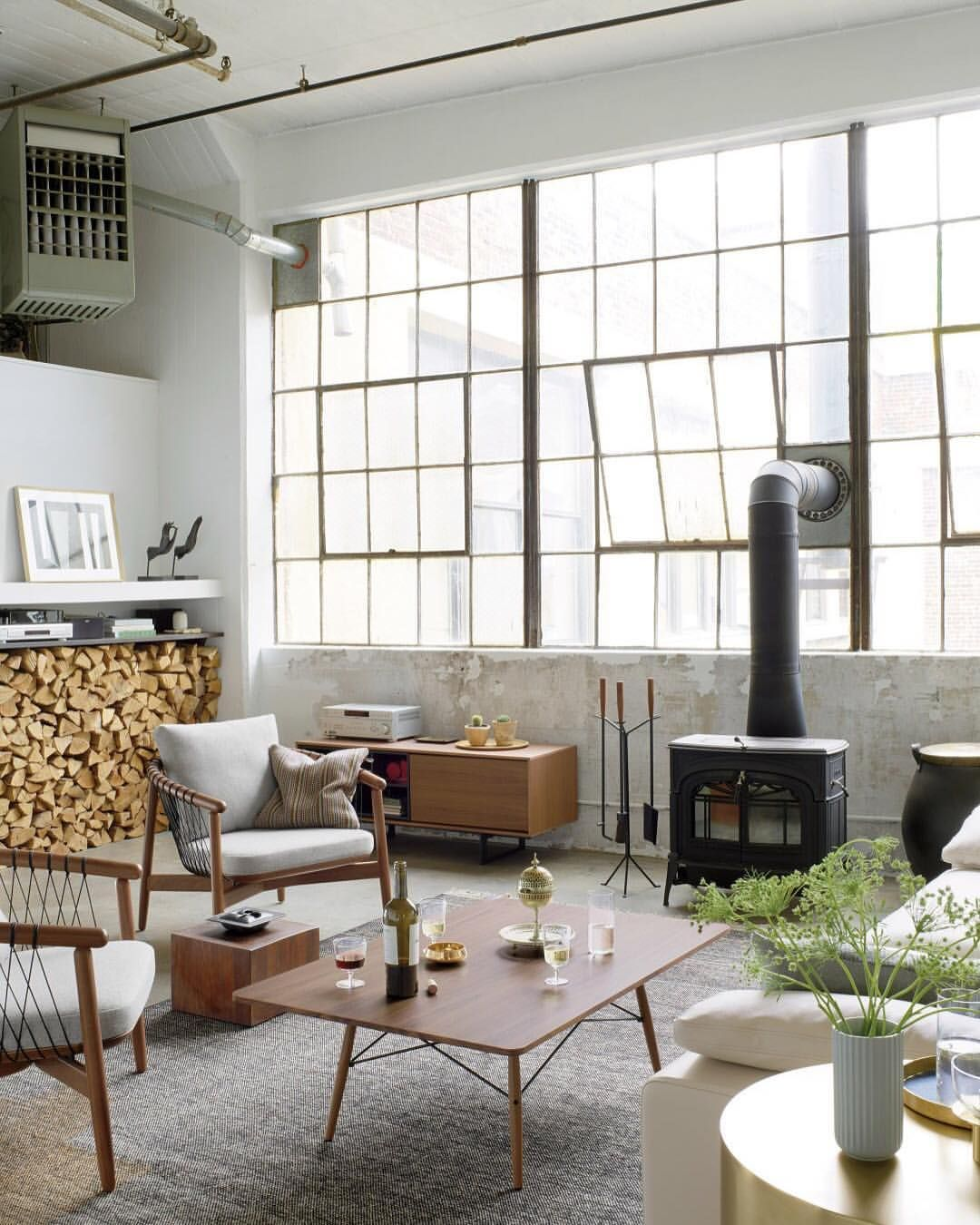 Get Inspired to Turn Your Industrial Home Design Around! | Instagram ...