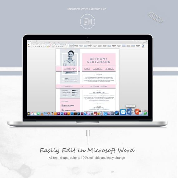 Creative And Modern Resume CV Design Template