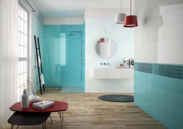 Carrelage Wonderwall ASCOT TANGUY Matériaux Salle de bains