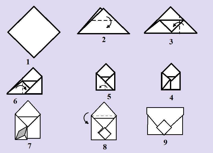 Как делать поделки из бумаги инструкция
