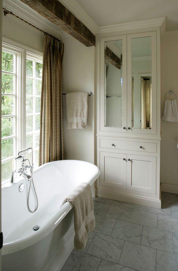 mirror door bathroom linen cabinet furniture - Simple Bathrooms Birmingham Phone Number