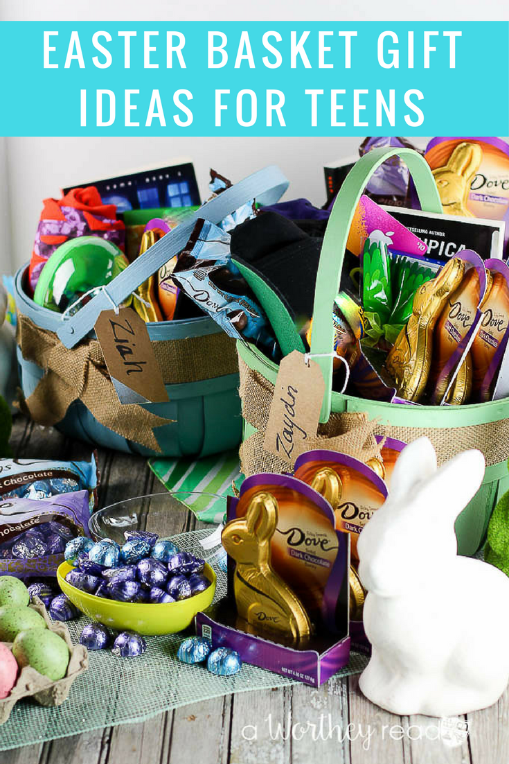 Easter basket gift ideas for teens easter baskets easter and this easter basket is full of gift cards games and of course candymaking it the perfect gift idea for your negle Images