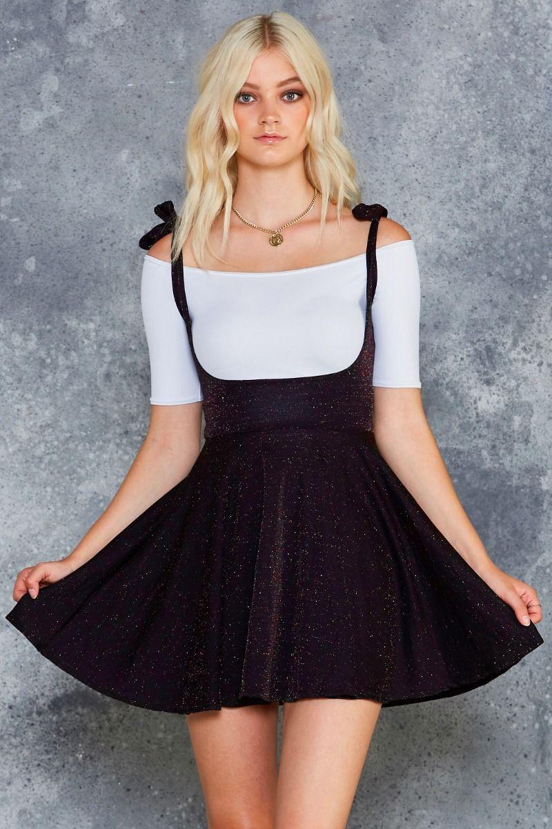 Rainbow Party Underbust Dress Limited Lurex Dress Dresses Black Milk Clothing [ 1200 x 800 Pixel ]