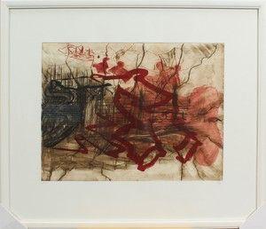 Lauritz.com - Grafik - Per Kirkeby, litografi, komposition (cd) - DK, Aarhus, Egå Havvej
