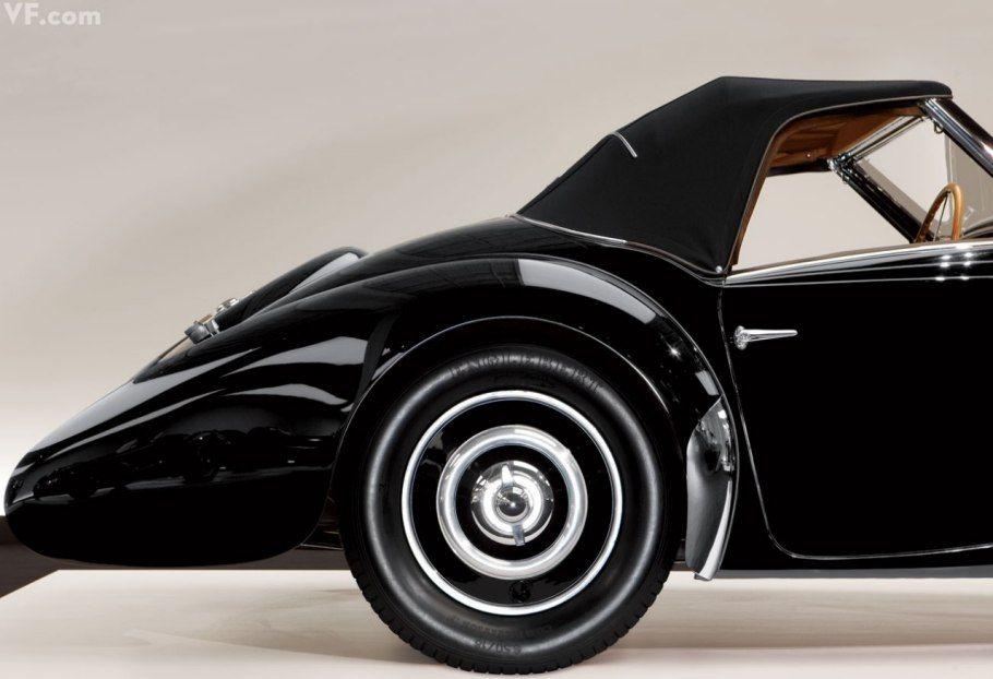 Ralph Lauren's 1937 BUGATTI Type 57SC Gangloff Drop Head Coupe Vanity Fair's Most Iconic Photography in 2011   Vanity Fair / Todd Eberle Photographer