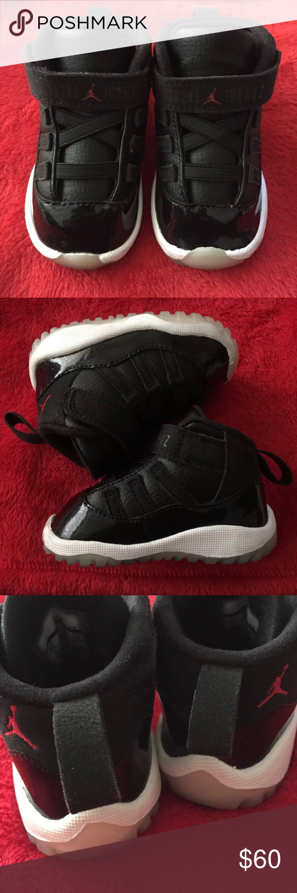 size 40 540a8 4482f Toddler Jordan 11 72-10 Size 4C (Toddler) 9/10 Box included ...