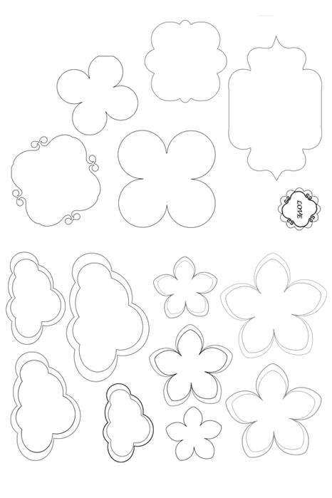 Шаблоны для открыток из бумаги