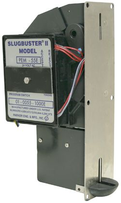 Parker Engineering Electronic Coin Acceptor SlugBuster II:: Quarters