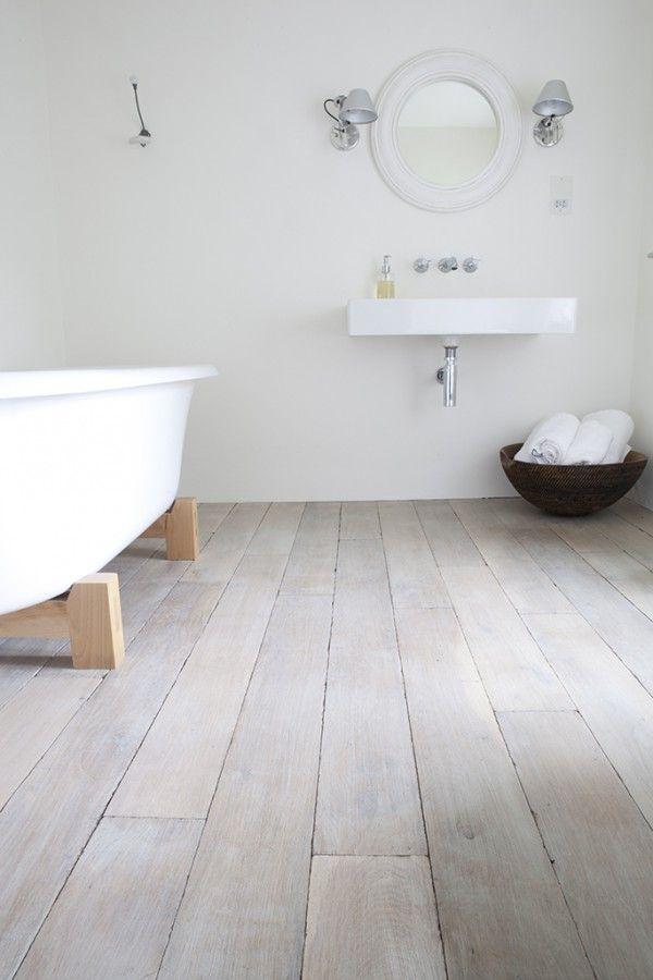 Houten vloer badkamer thestylebox | parkiet | Pinterest | Southampton