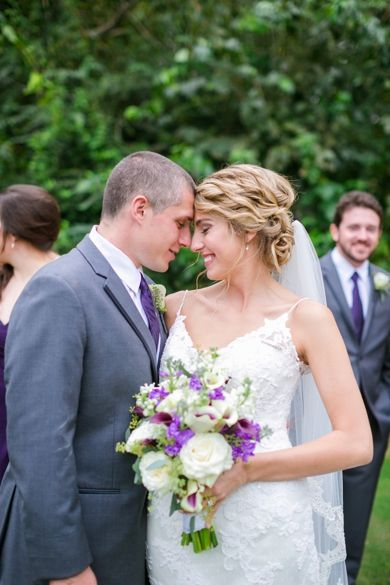 Purple + White Charleston Wedding // Dana Cubbage Weddings // Charleston SC + Destination Wedding Photographer