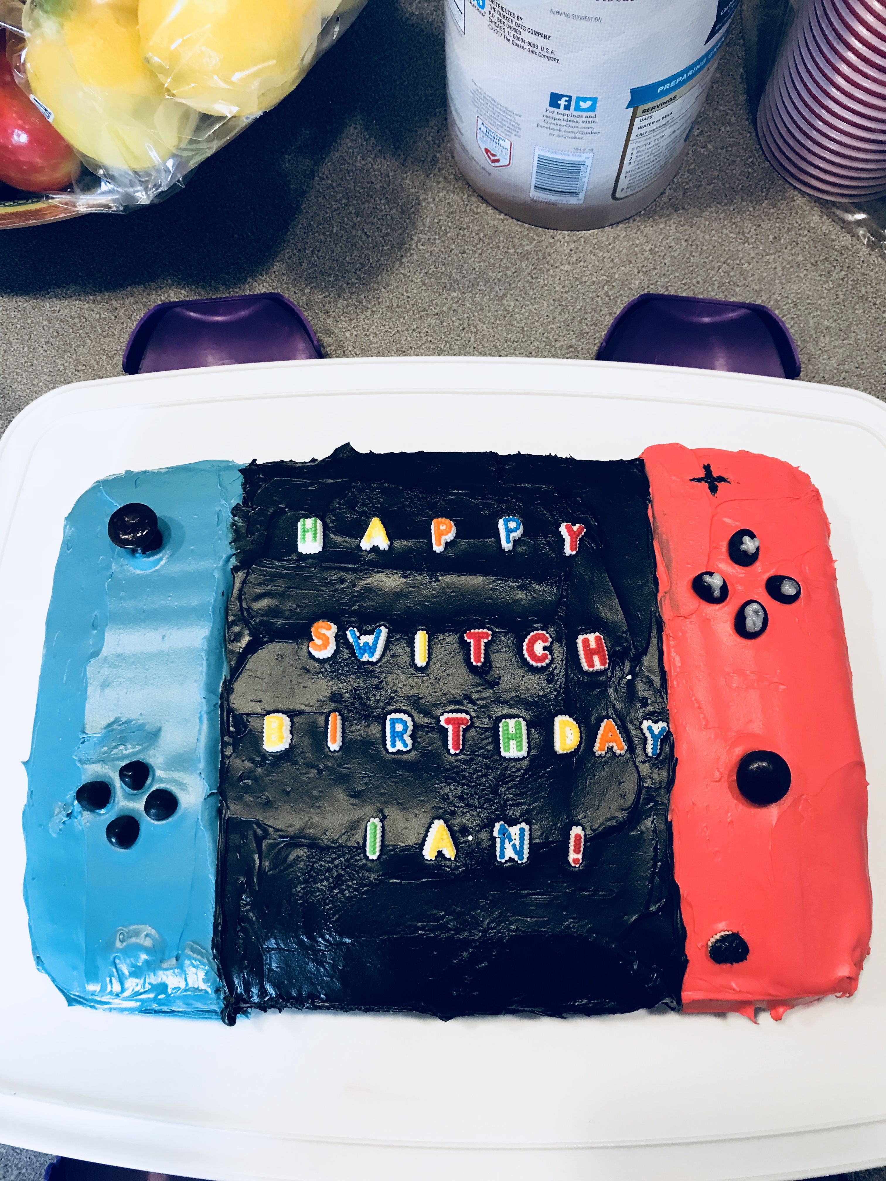 Miraculous Nintendo Switch Cake With Images Video Game Party Party Games Funny Birthday Cards Online Drosicarndamsfinfo