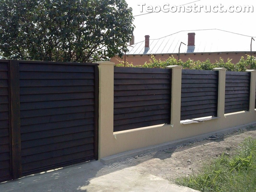 Garduri din lemn preturi iasi 5 modele garduri din lemn for Modele de balcon din lemn