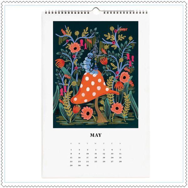 "Image of Calendrier 2016 ""Alice in Wonderland"""