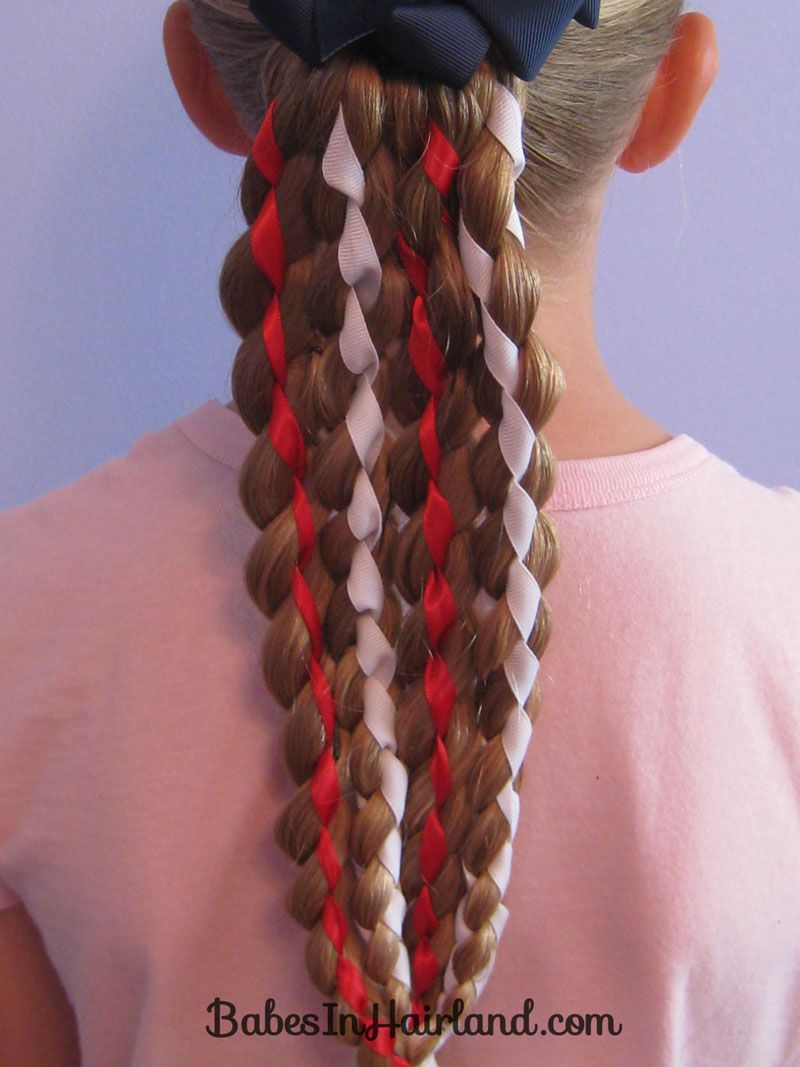 Vertical American Flag Hairstyle (18)
