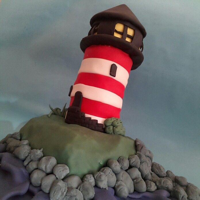 Leuchtturm Fondant Cake