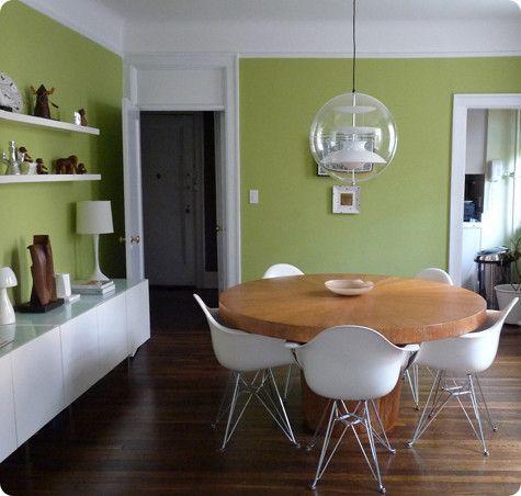 green accent walls | Green Walls