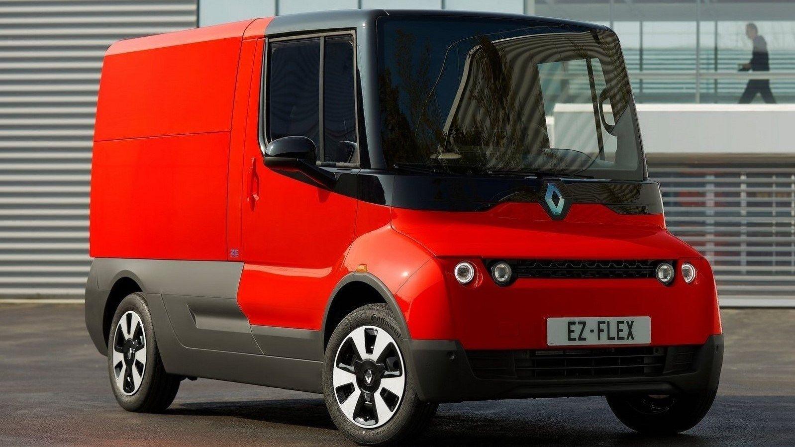 Renault EZ Flex Concept 2019 Petit utilitaire 100