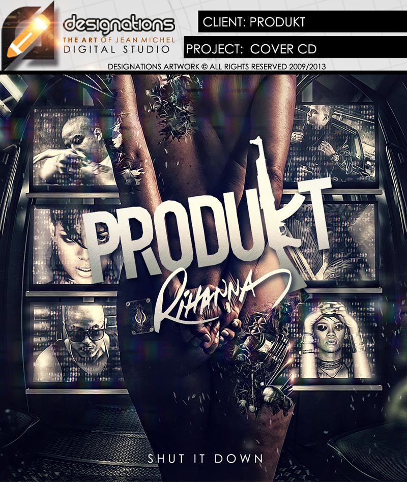 CLIENT:PRODUKT/RIHANNA PROJECT: CD PACK CD PACK   IDEALIZADO PARA CONCURSO -PRODUKT/RIHANNA - ALL RIGHTS RESERVED 2014 -   LIKE: http://www.facebook.com/designations.com  WEBSITE: http://www.designations.com.br