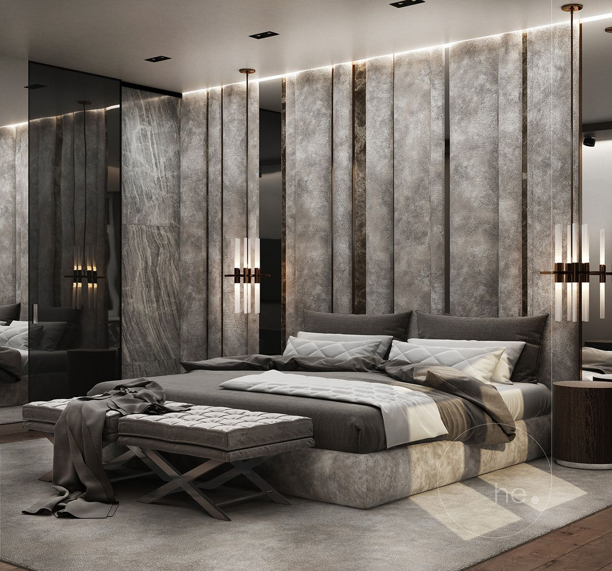 Best Пин На Доске Modern Bedrooms 400 x 300