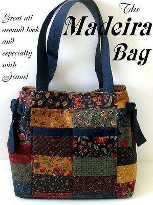 Madeira Bolsa Tote / Bolsa-Kit De Bolsa de tecido de moda  | eBay