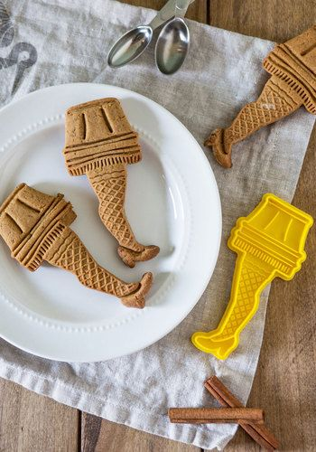 Christmas story cookie cutters
