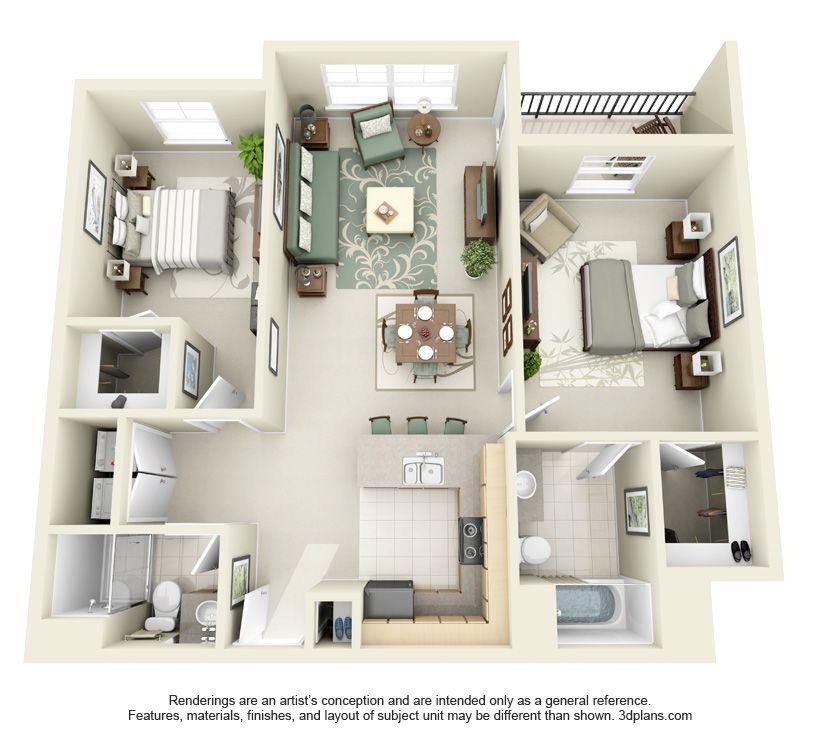 Fantastic Studio 1 2 & 3 Bedroom Apartments In Wilsonville Or Fascinating 3 Bedroom Apartment Design Inspiration