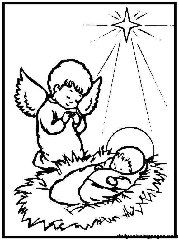 Baby Jesus Coloring Pages Printable Sheets For Kids Get The Latest Free Images Favorite To Print