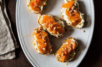Persimmon Bruschetta Recipe on Food52, a recipe on Food52
