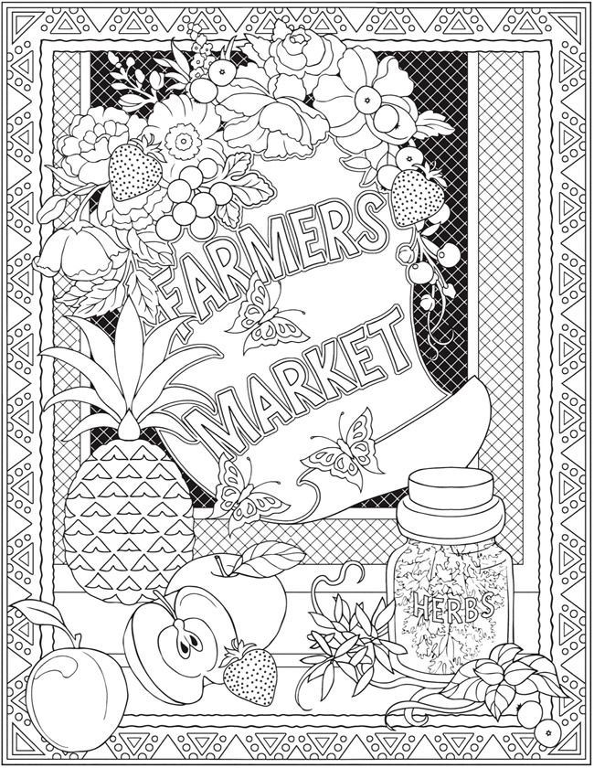 Great Design Coloring Book 36 Wele to Dover Publications