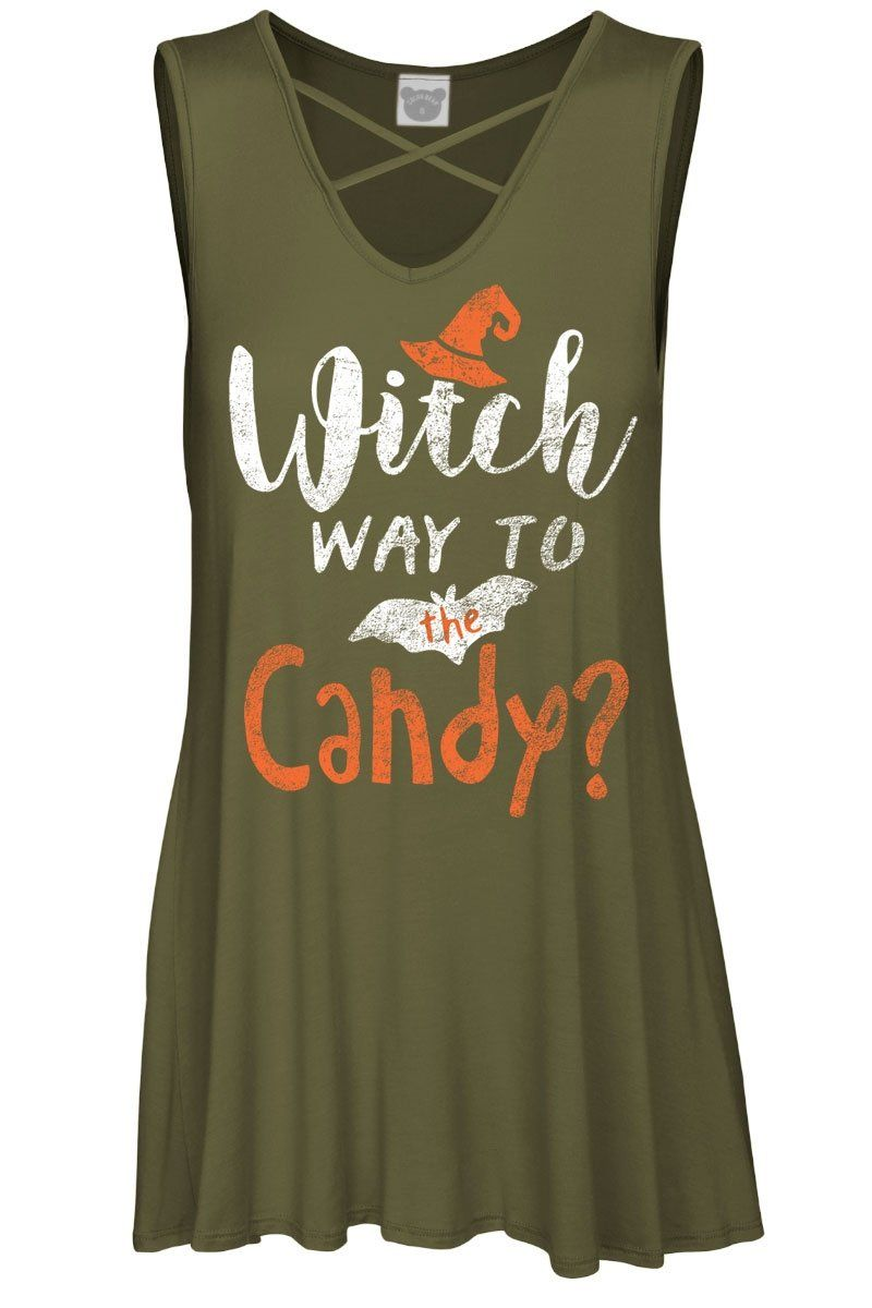 1019986fa4372e Witch Way Candy Criss Cross V Neck  Leggings  VIVCollection  OOTD  Fashion